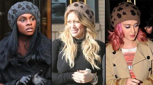 Tika Sumpter, Hilary Duff và Katy Perry.