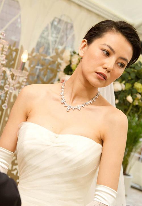 """""""Ngọc nữ"""" Cao Viên Viên xinh đẹp trong hình ảnh cô dâu."""
