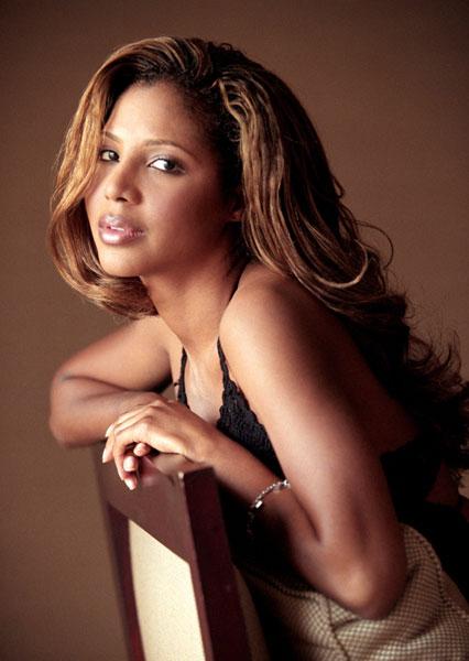 Nữ ca sĩ Toni Braxton.