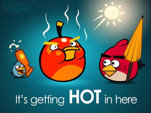 Angry Birds là một trong những game phổ biến nhất trên các thiết bị di động và tablet.