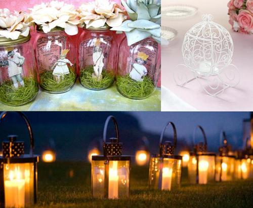Ánh nến lung linh sẽ làm đám cưới của bạn thêm phần lãng mạn như cổ tích.