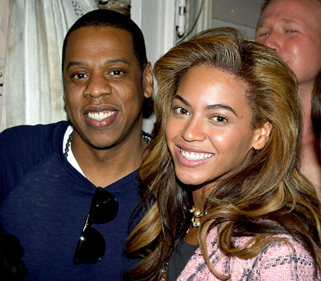 Beyonce và Jay-Z.