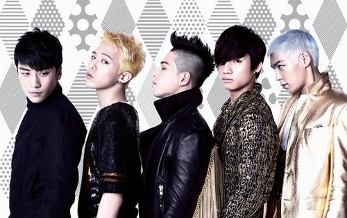 5 thành viên của Big Bang: Seungri, G-Dragon,