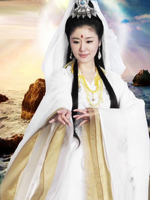 """Tạo hình của Lâm Tâm Như trong bộ phim mới """"Ma Tổ"""" dành được nhiều thiện cảm của khán giả."""