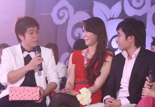 Trong chương trình, cả hai đã có dịp chia sẻ về câu chuyện tình yêu