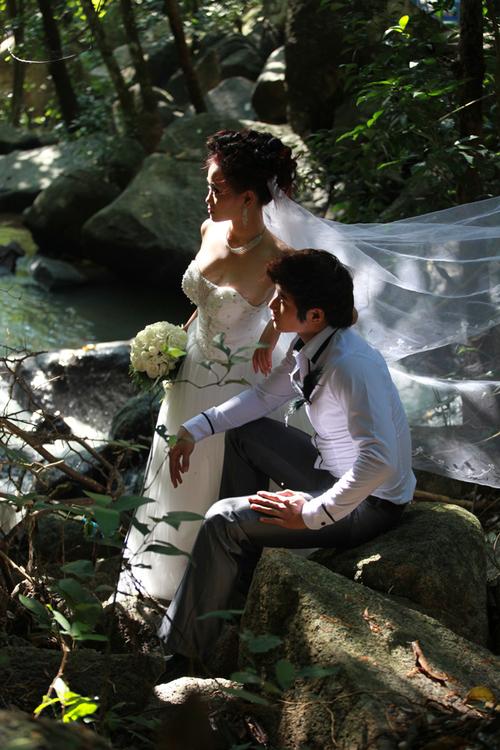 Khung cảnh tự nhiên ở Suối Tiên sẽ đem đến cho bạn những bức hình đẹp.