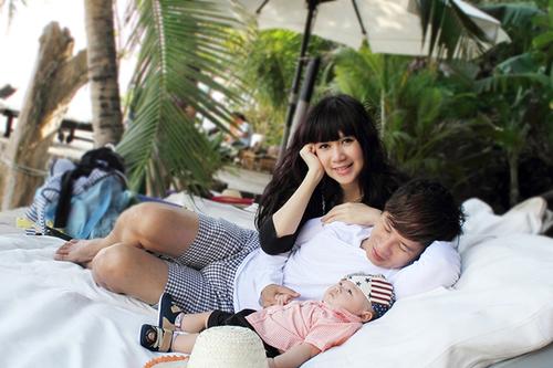 Trong suốt 5 năm yêu nhau, Valentine nào Lý Hải và Minh Hà cũng có một bữa tiệc lãng mạn ở bên nhau. Tuy nhiên, khi kết hôn và có con trai thì Rio bây giờ đã trở thành niềm hạnh phúc lớn nhấ của hai vợ chồng.