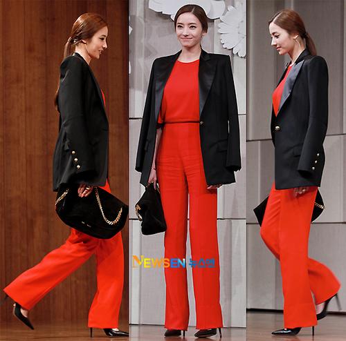 """""""Búp bê xứ Hàn"""" Han Chae Young thu hút hàng chục ống kính với phong cách thời trang thanh lịch và sang trọng."""