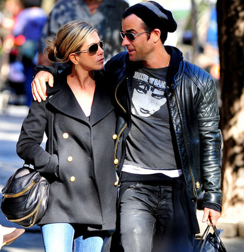 Jennifer Aniston và Justin Theroux.
