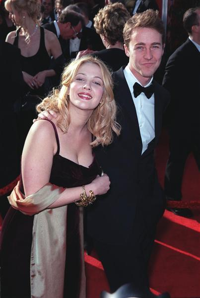 Drew Barrymore và Edward Norton
