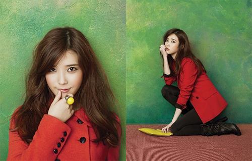 IU đang là giọng ca trẻ hot nhất của làng nhạc Kpop.
