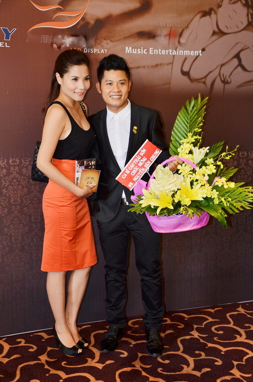 Ca sĩ Kiwi Ngô Mai Trang.