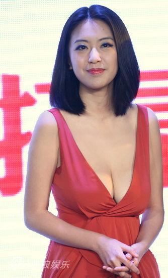 Tham dự một lễ trao giải tổ chức ở Bắc Kinh, nữ diễn viên Triệu Minh