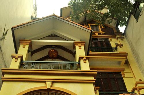 Căn nhà được cho là quà tặng của bà Liễu cho con trai