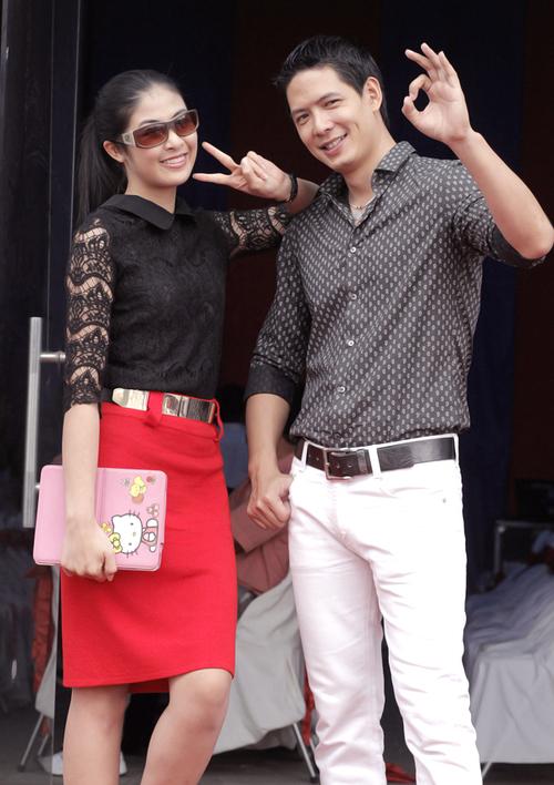 Đây là lần đầu tiên, Hoa hậu Việt Nam 2010 dẫn chương trình