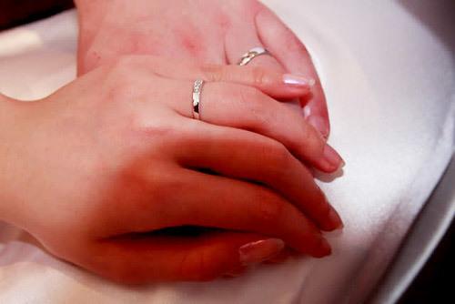 Vợ chồng tôi tốn nhiều thời gian đi chọn nhẫn cưới. Ảnh: Mai Nguyễn.