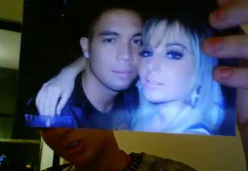 Tulisa và người yêu cũ trong đoạn phim sex.