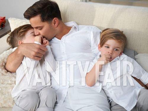 Ricky chia sẻ khoảnh khắc ngọt ngào khi làm cha.
