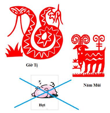 Người tuổi Mùi có thể 'quay lưng' lại với con giáp Hợi thuộc tam hợp của mình.