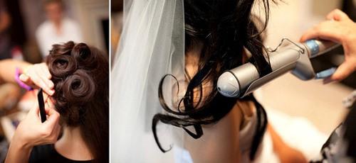 Không nên uốn tóc gần sát ngày cưới.