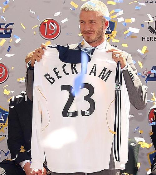 Đối với Becks, việc chuyển tới Los Angeles Galaxy thi đấu từ năm 2007 cũng là bước ngoặt đáng nhớ trong sự nghiệp.