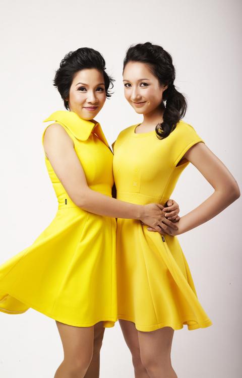 Mỗi năm, Anna bay sang Đức hai lần để gặp mẹ đẻ. Với Mỹ Linh, cô luôn coi diva nhạc Việt như người mẹ thứ 2.