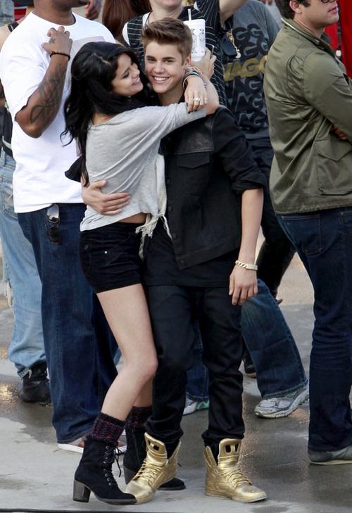 """Justin Bieber đang quay video clip ca khúc """"Boyfriend""""."""