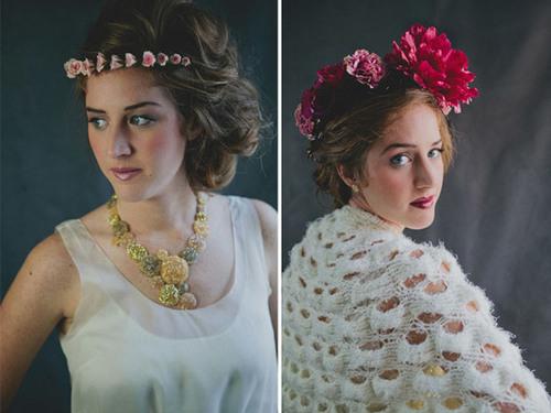 Ngoài hoa tươi, cô dâu có thể chọn hoa lụa.