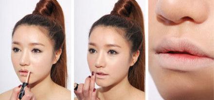 Thoa một lớp kem lót hoặc kem che khuyết điểm lên vùng da viền môi và môi