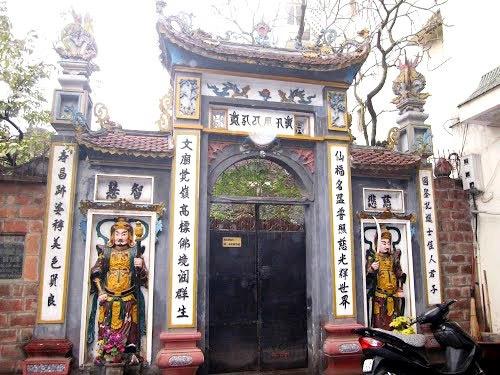 Chùa được coi là một di tích nằm trong quần thể di tích lịch sử Văn Miếu - Quốc Tử Giám.