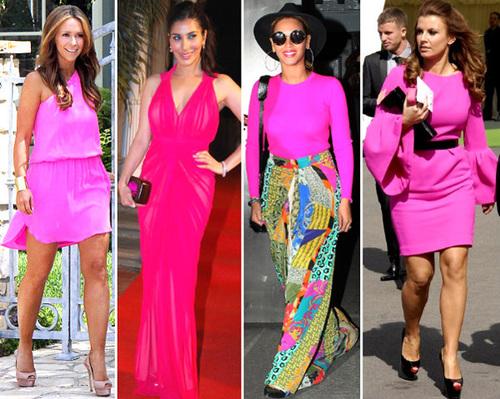 Từ trái sang phải: Jennifer Love Hewitt, Sophie Chaudhary, Beyoncé Knowles và Coleen Rooney
