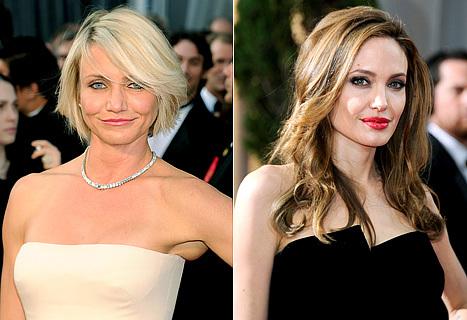 Cameron Diaz thay Angelina trong phim mới.