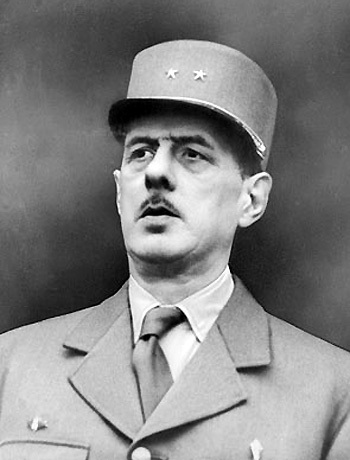 Tướng Charles De Gaulle tuổi Canh Dần (1890).