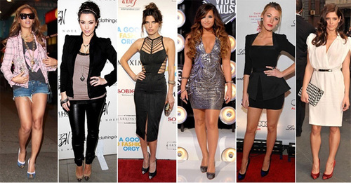 Beyonce, Kim Kardasion, Lake Bell, Demi Lovato, Blake Lively, or Ashley Greene