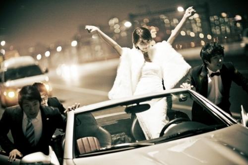 Những shot hình cưới rất ấn tượng của người đẹp xứ Hàn.