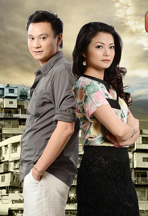 """Công Dũng và Kiều Anh là một cặp vợ chồng trong """"Những công dân tập thể""""."""