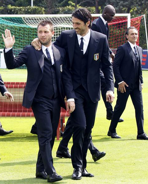 Cassano và Buffon