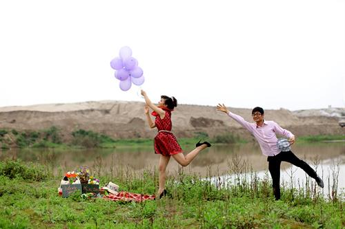 Bộ ảnh Quốc Khánh - Thùy Linh.