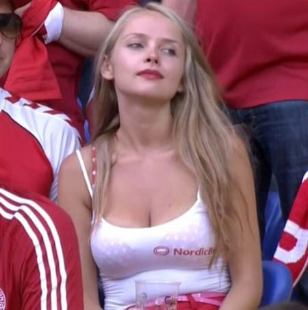 Fan nữ Đan Mạch.