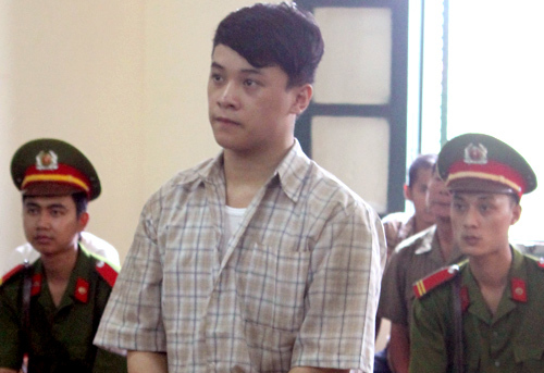 Nguyễn Thái Dương trước vành móng ngựa. Ảnh: Việt Dũng.