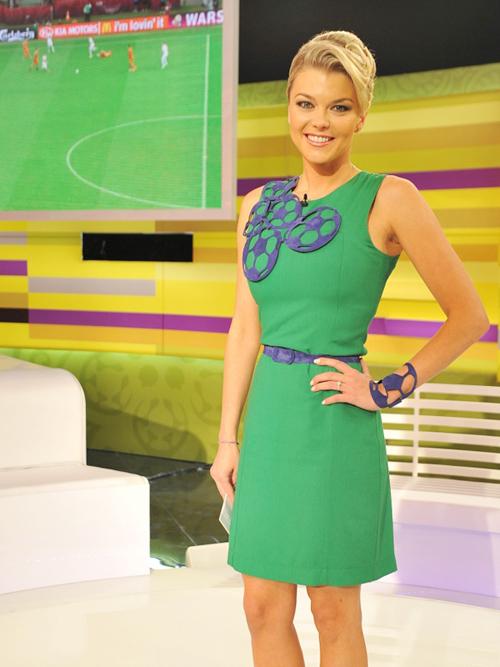 Irina Blokhina, cô con gái vừa xinh đẹp, vừa tài năng của HLV tuyển Ukraina, Oleg Blokhin.