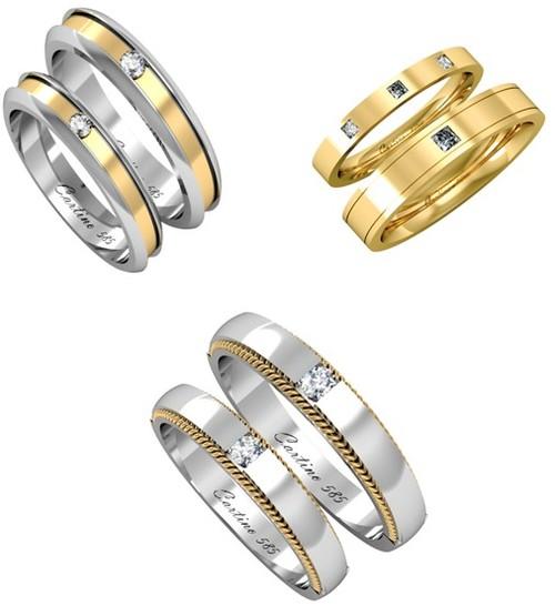 Nhẫn cưới Cartino