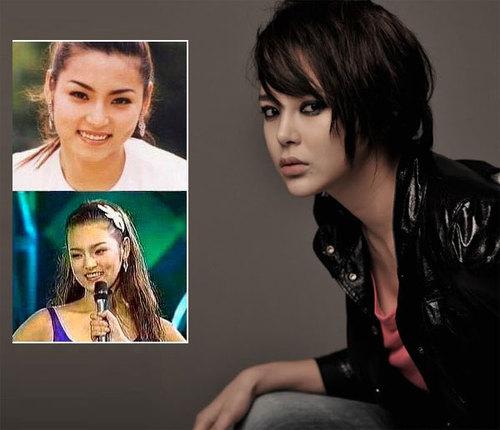 """""""Nữ hoàng dao kéo"""" Park Shi Yeon. Dù bị """"chết danh"""" nhưng diễn viên này chưa bao giờ thừa nhận cô tân trang nhan sắc."""