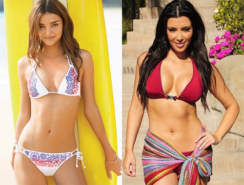'Thiên thần của Victoria's Secret' Miranda Kerr, Kim Kardashian