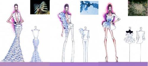 Nguyễn Tuấn Hải với bộ sưu tập Belvedere Ocean. Các thiết kế lấy ý tưởng từ vẻ đẹp của đại dương bao la, từ những sự sống dưới lòng đại dương với vẻ đẹp không thể lẫn lộn của mỗi loài. Chất liệu được sử dụng là kaki thun, organza silk.