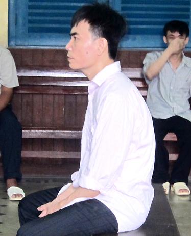 Bị cáo Bằng tại tòa. Ảnh: H. P.