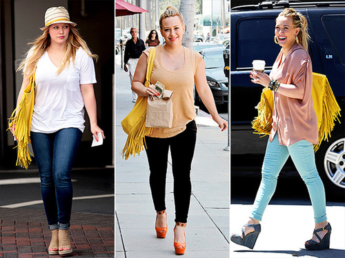 "Hilary Duff Donatienne ""Tawny"" tote (available for $750)"