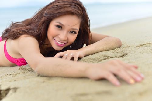 Vân Anh, Miss Phan Đình Phùng ngày nào, có đôi mắt biết nói.