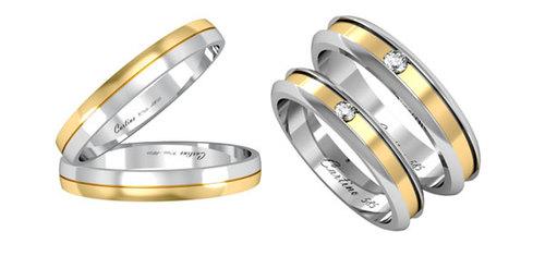 Mẫu nhẫn cưới mới của thương hiệu Cartino