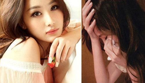 Bạn gái công khai của Trác Hy là hotgirl Trương Hinh Dư (bên trái) và cô gái chát sex tên là Miss A.